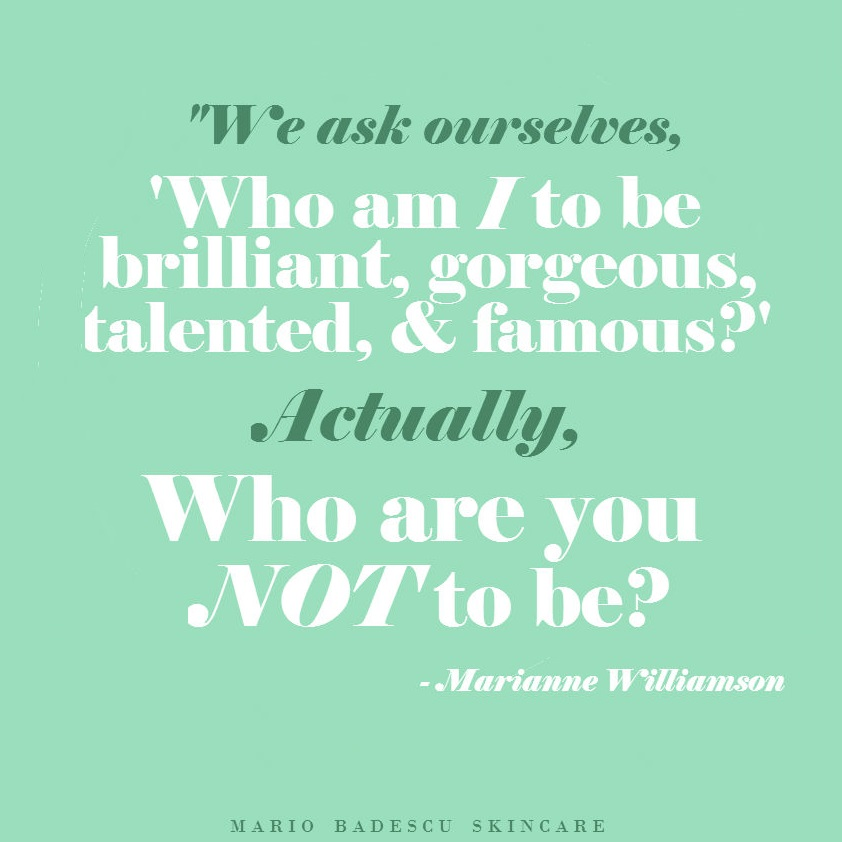 Beauty Skin Care Quotes: Not-So-Wordless Wednesday: Inspirational Quote