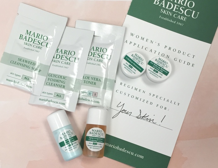 Get FREE Skincare Samples from Mario Badescu – Fill out the skin care analysis. It takes all of the information you provide into account to form specialized skin care product recommendations that are customized for you.