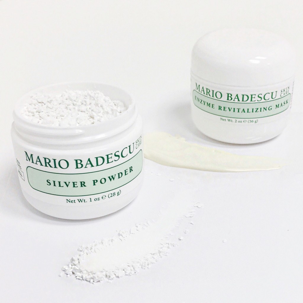 mario badescu detox retox silver powder enzyme revitalizing mask