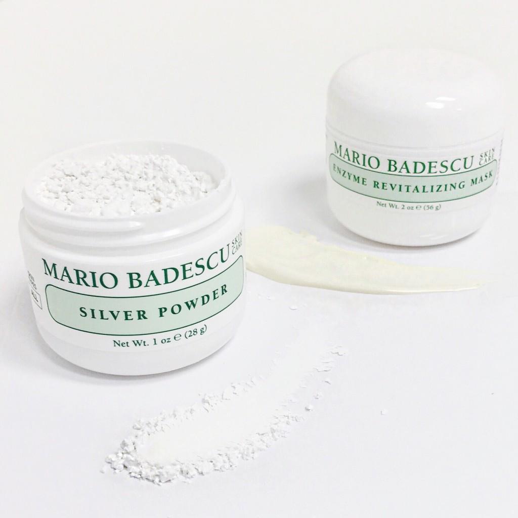 mario badescu detox retox silver powder enzyme revitalizing mask