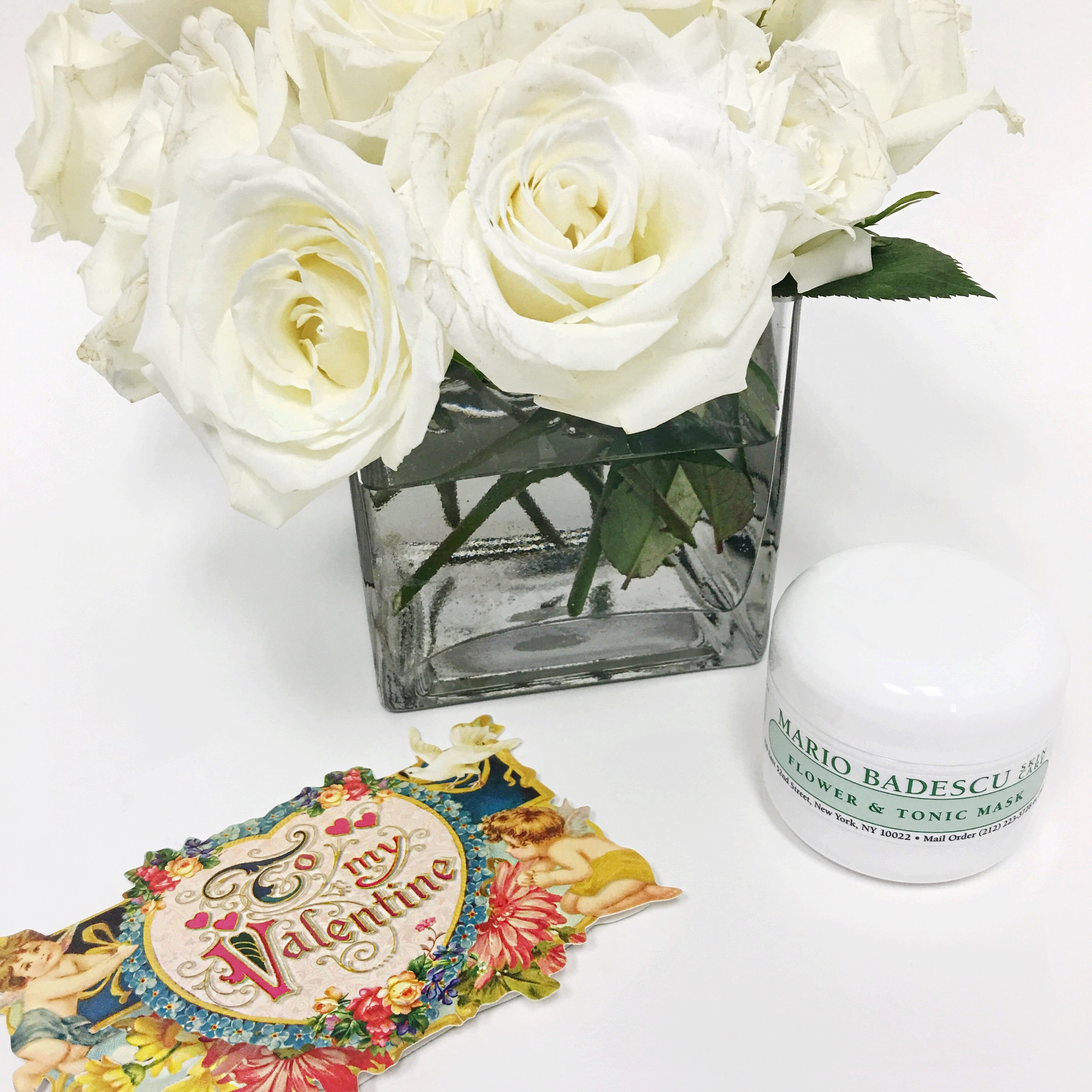 mario badescu valentine's day gift guide vintage white roses -, Ideas