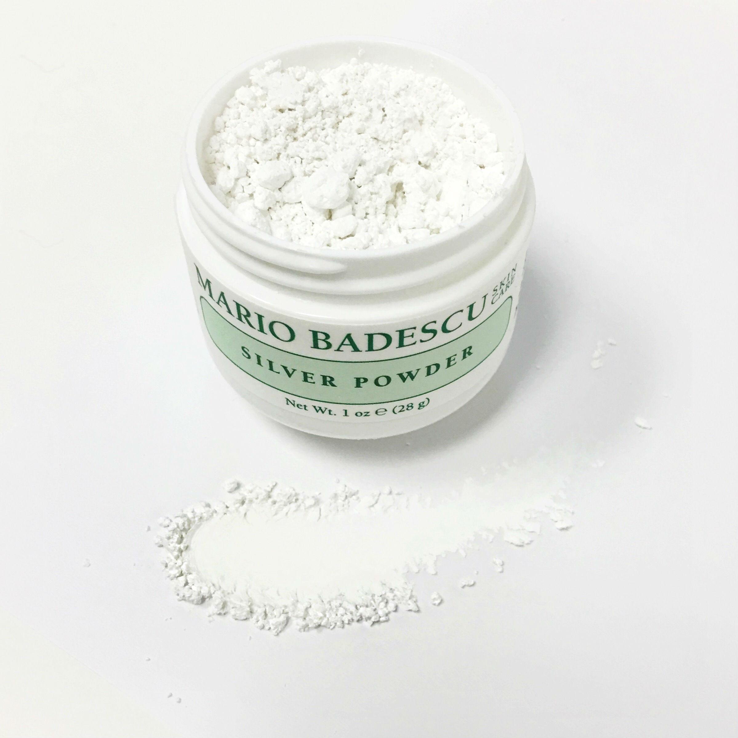 how to use mario badescu silver powder