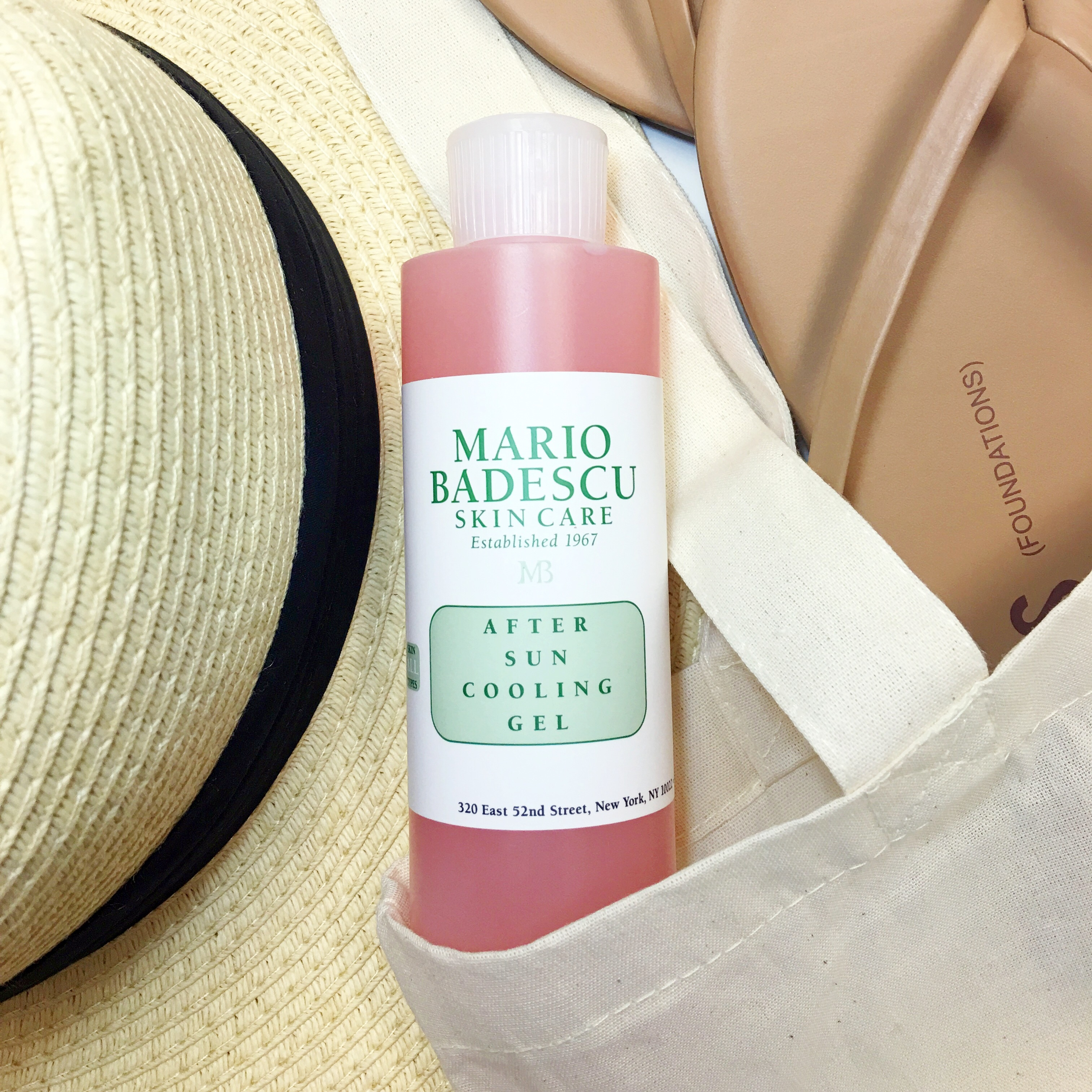 After Sun Cooling Gel summer must-have