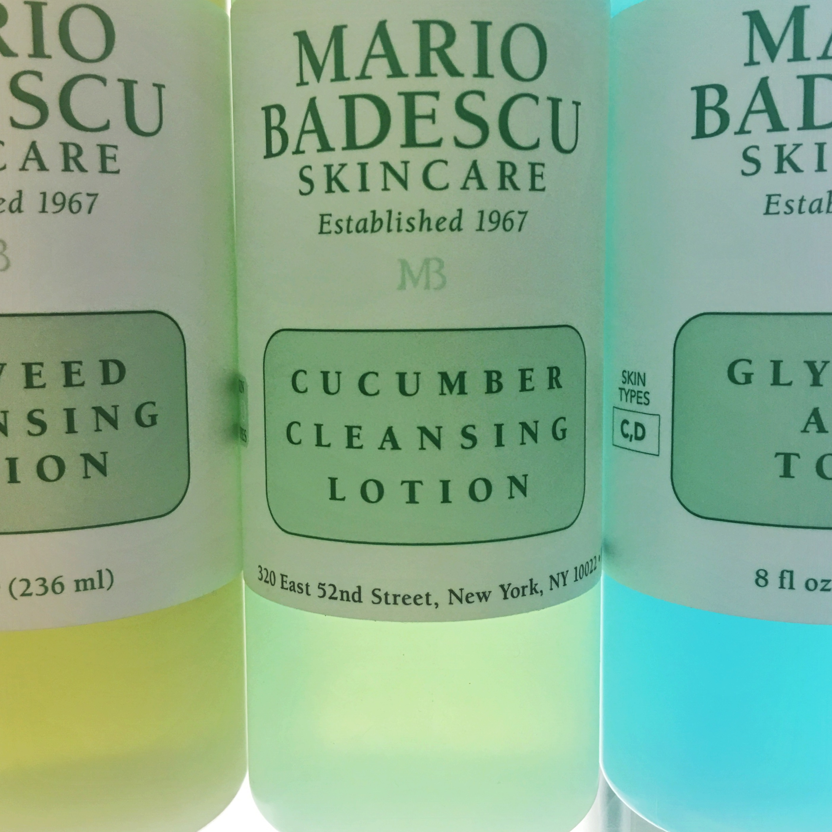 Toners, astringent, cleansing lotion