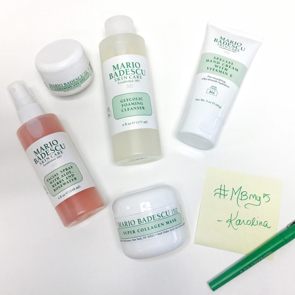 Kari's favorite Mario Badescu products