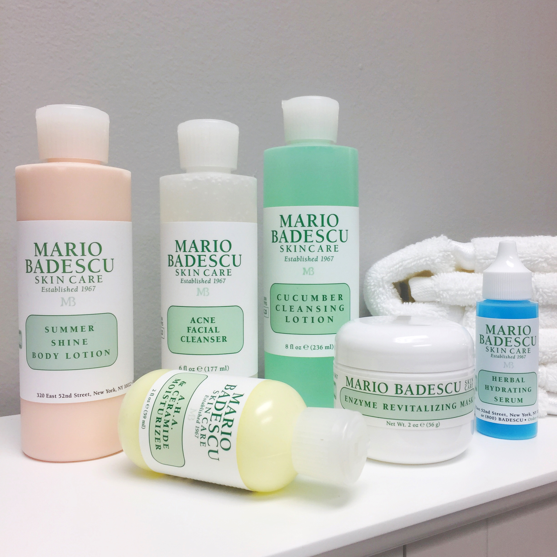 Mario Badescu how to get glowing skin