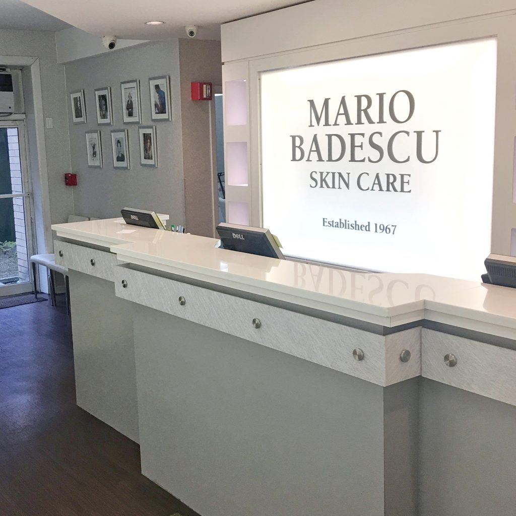 Mario Badescu Salon front desk