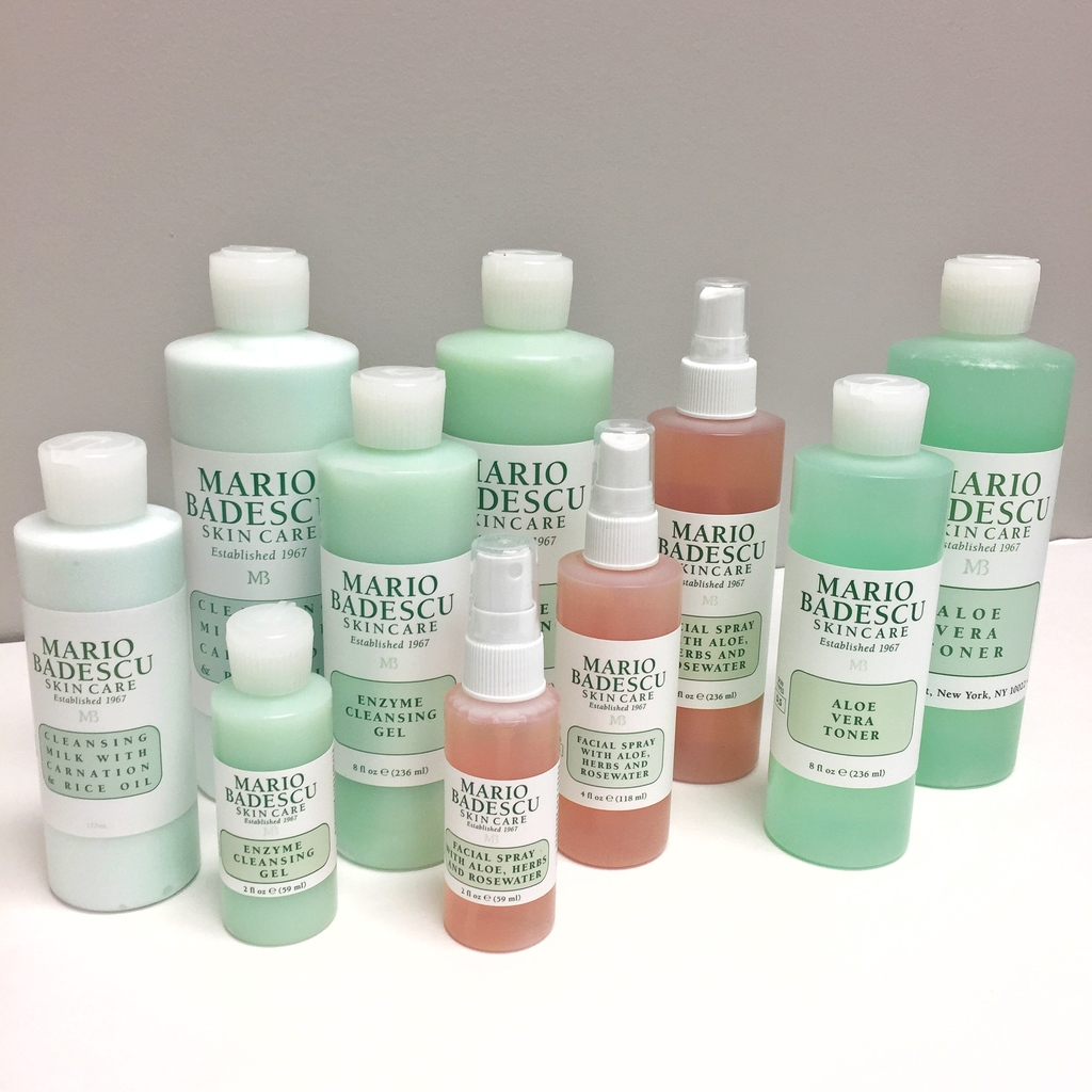 Mario Badescu deluxe sizes, Mario Badescu Travel Sizes