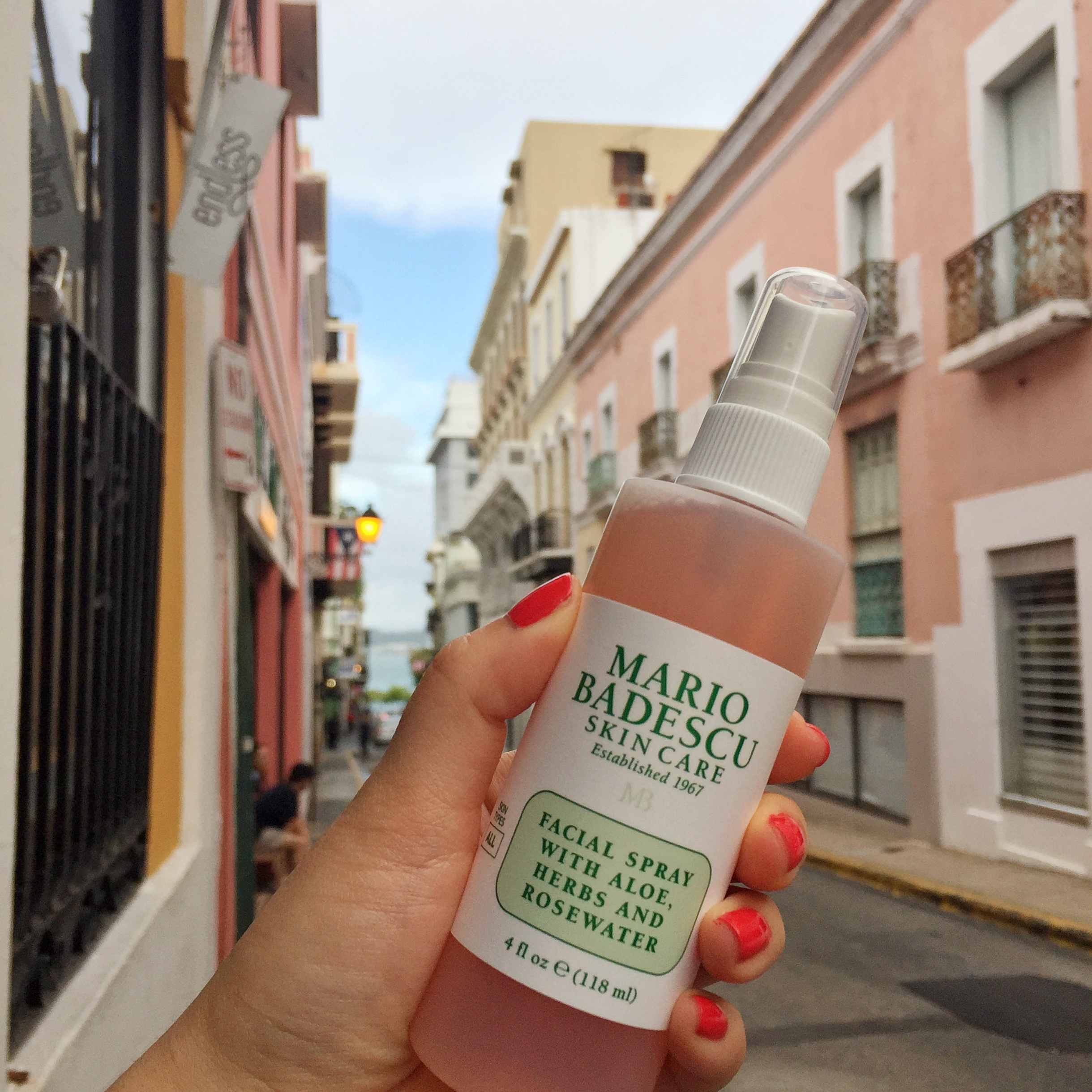 MBTravels Travel Skincare Diary Puerto Rico Clear Skin