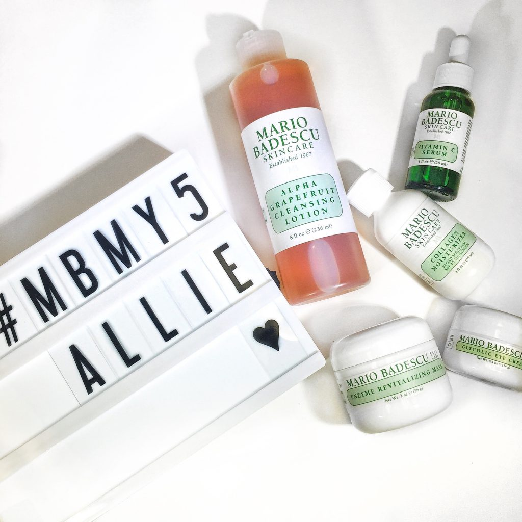 Allie's favorite five products