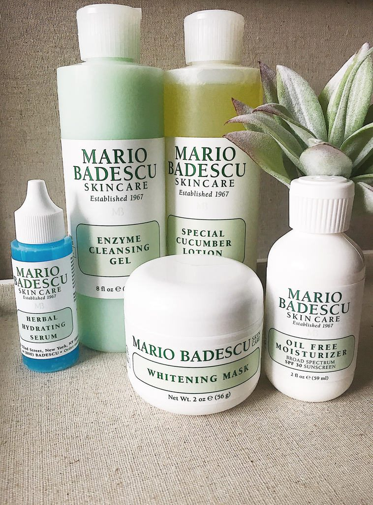 Lindsey's favorite Mario Badescu products