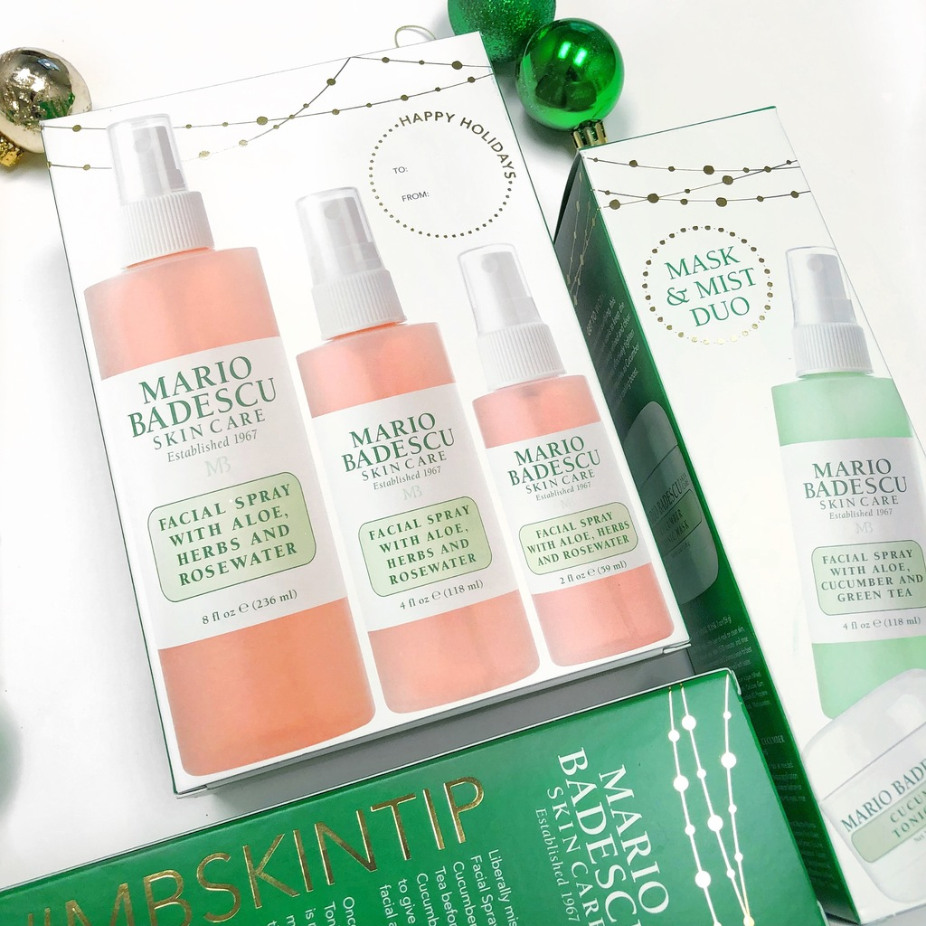 Mario Badescu Holiday 2017 Gift Set Ideas