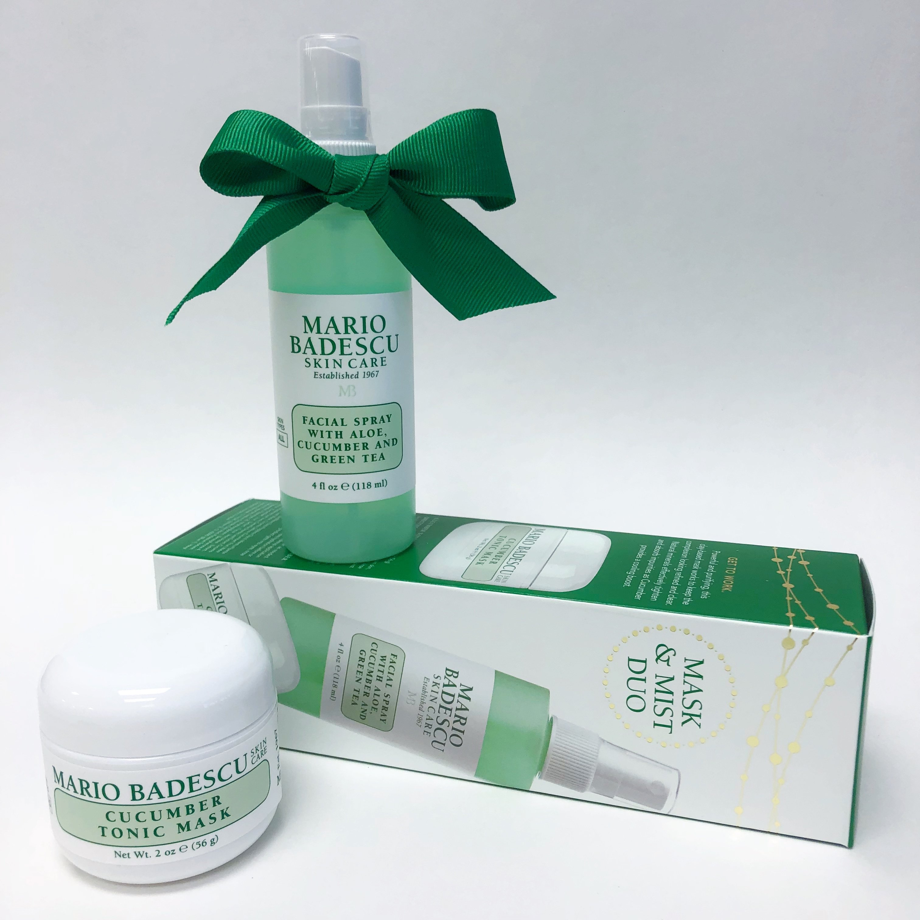 Mario Badescu Cucumber Mask & Mist Duo Holiday Gift Set