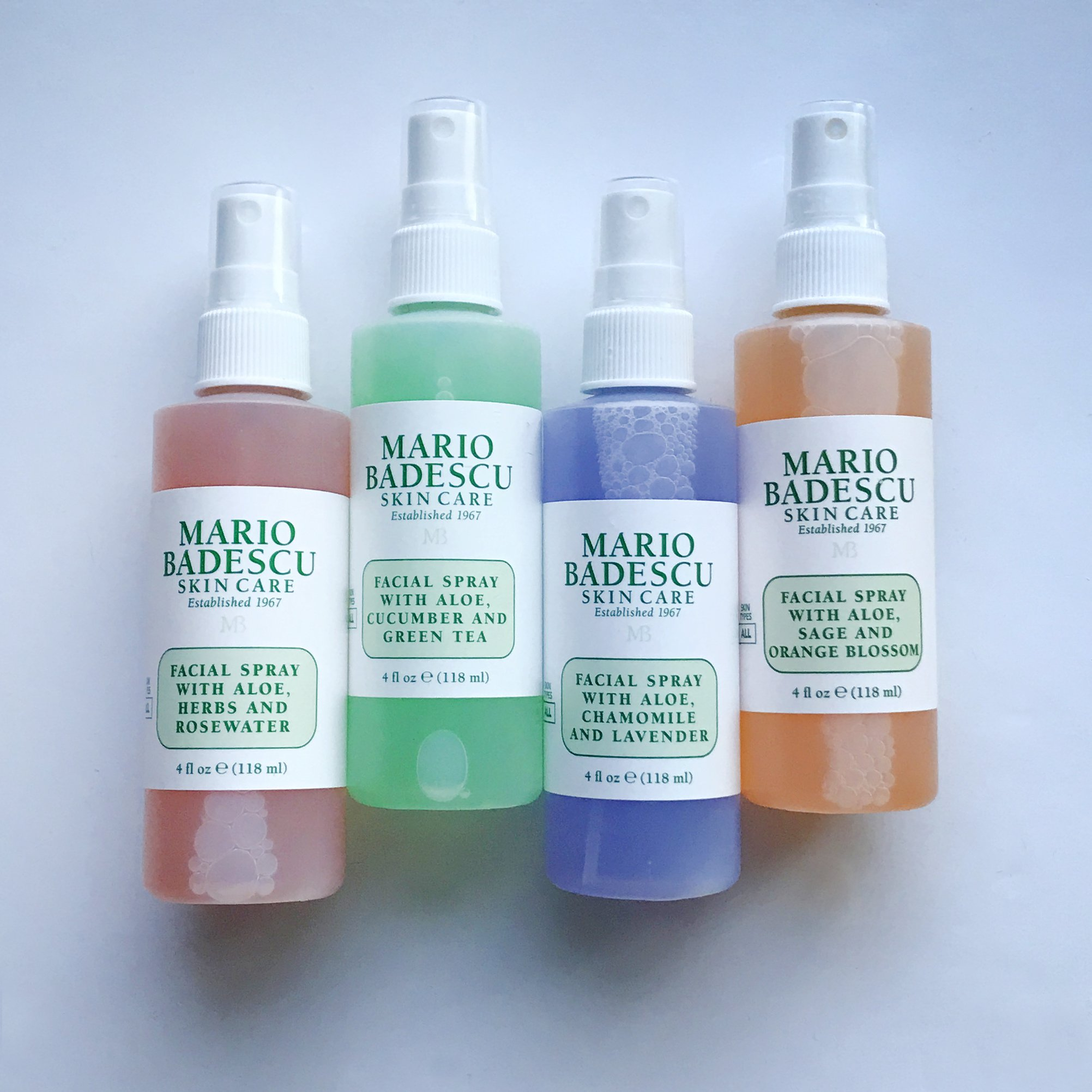 Mario Badescu Facial Spray Comparison Guide