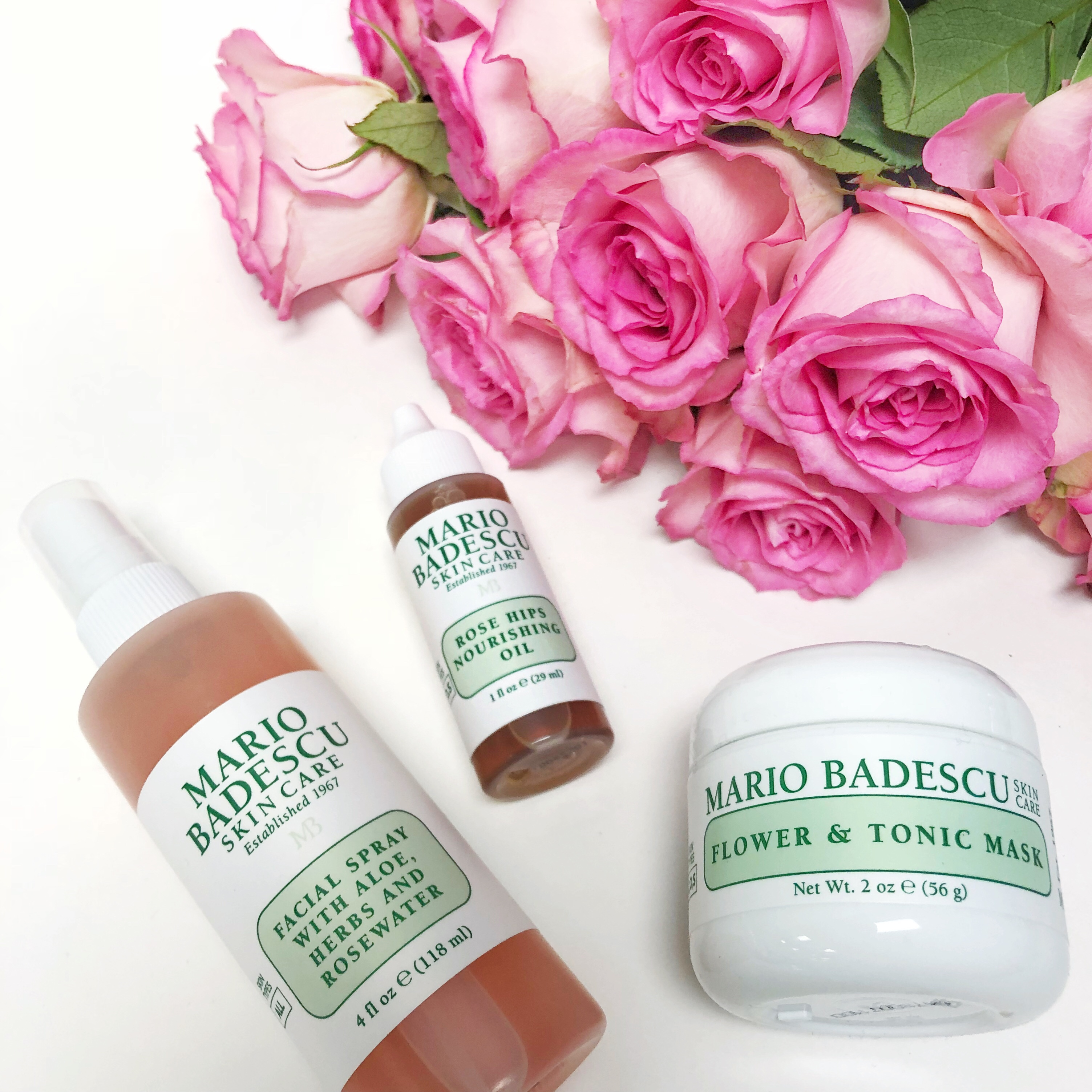 Mario Badescu Rose Skin Care