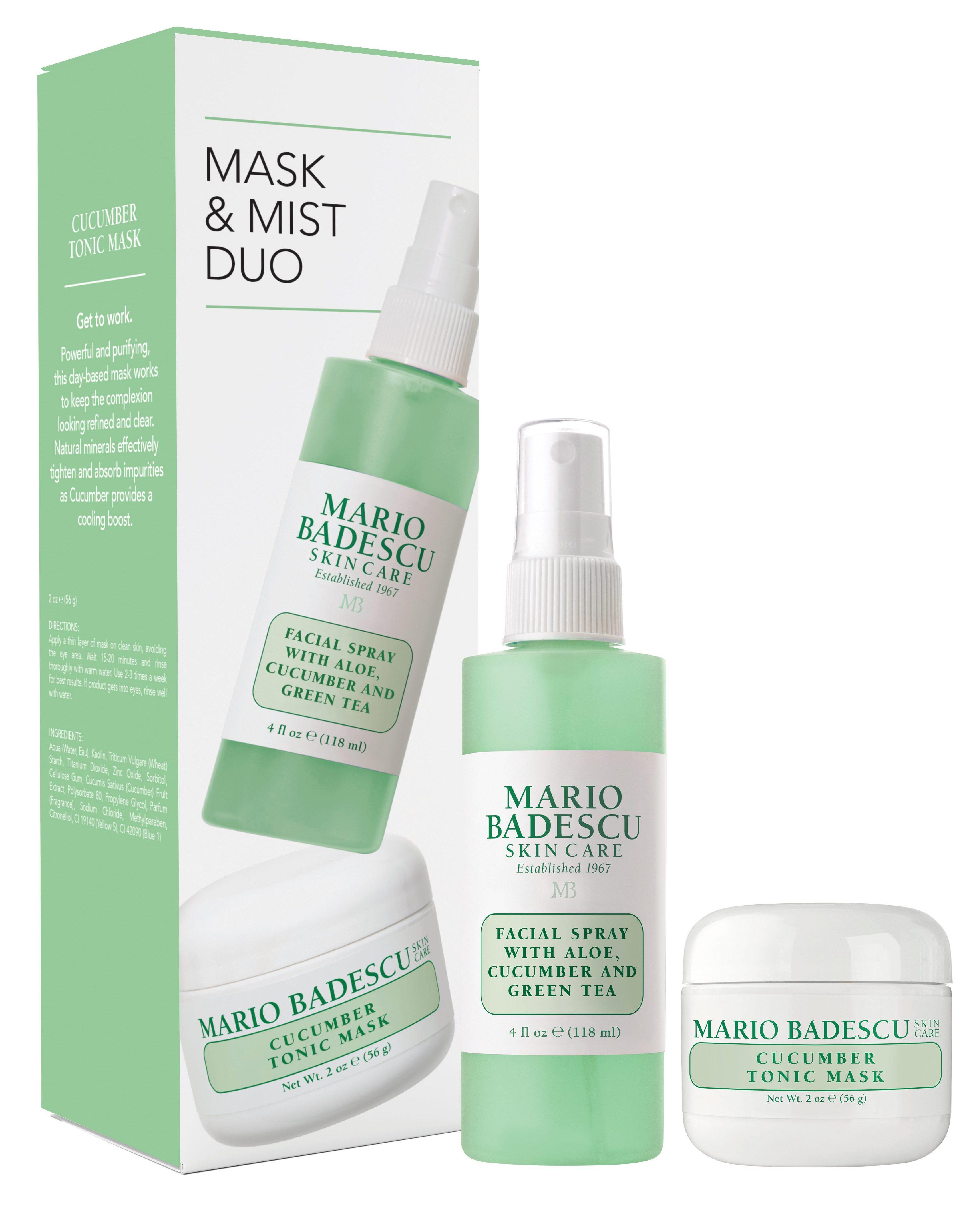 Maroi Badescu Cucumber Mask & Mist Kit