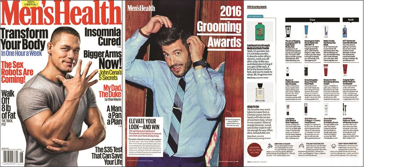 5d42d3ac430 Mario Badescu Botanical Exfoliating Scrub is a Men s Health 2016 Grooming  Awards winner! Here s what Men s Health had to say