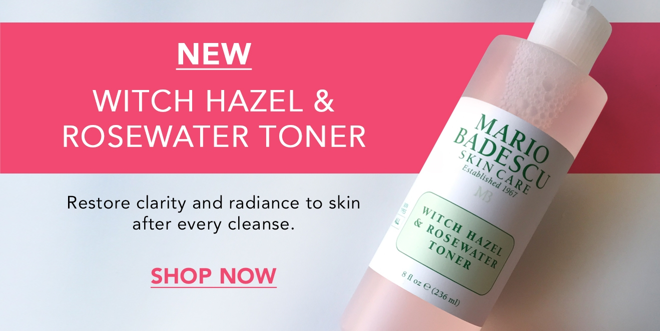 Shop the New Witch Hazel & Rosewater Toner