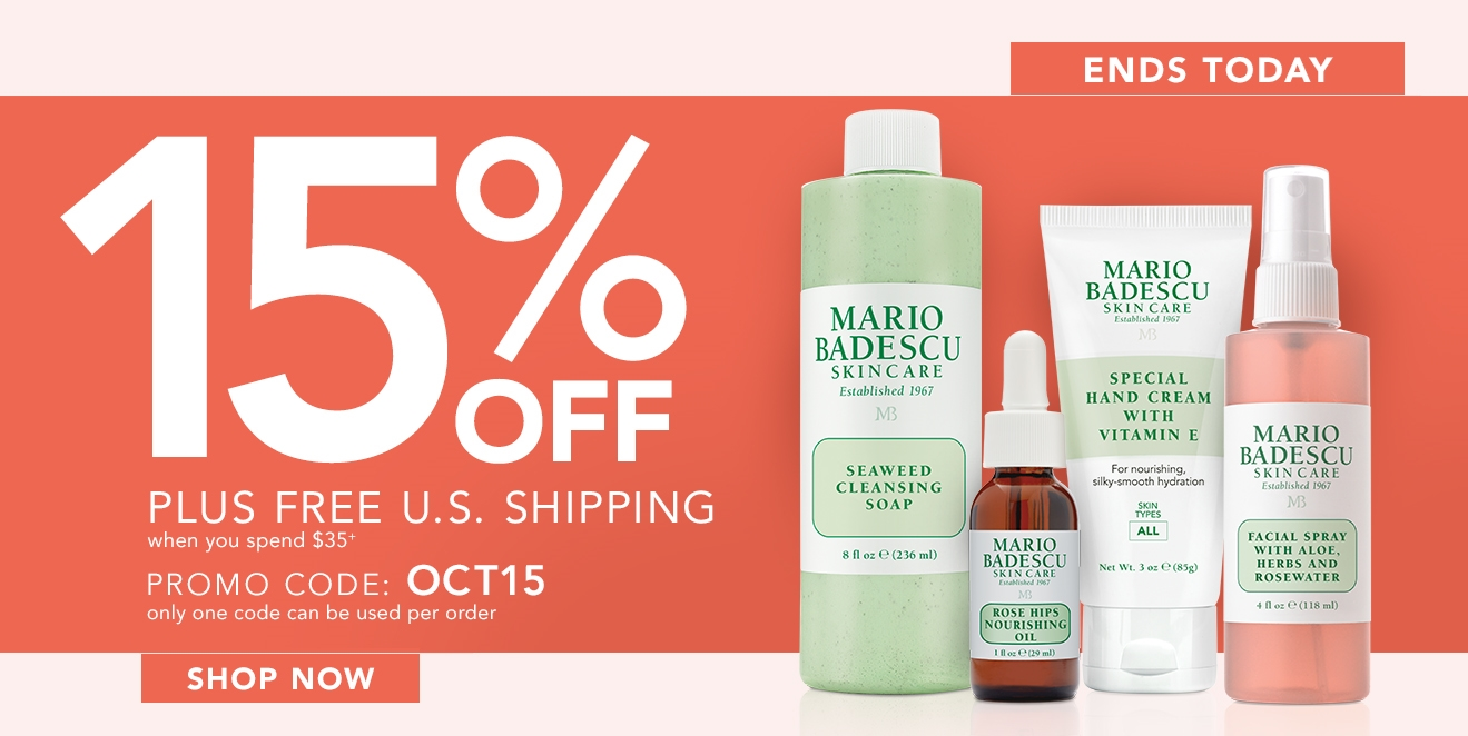 OCT15 ENDS TODAY