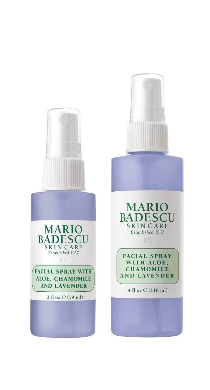 Facial Spray With Aloe Chamomile And Lavender Duo 2 Oz 4 Oz