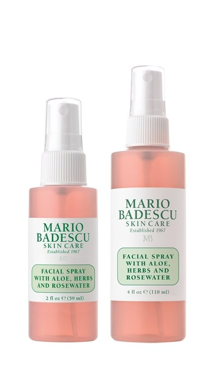 Facial Spray With Aloe Herbs Rosewater Duo 2 Oz 4 Oz