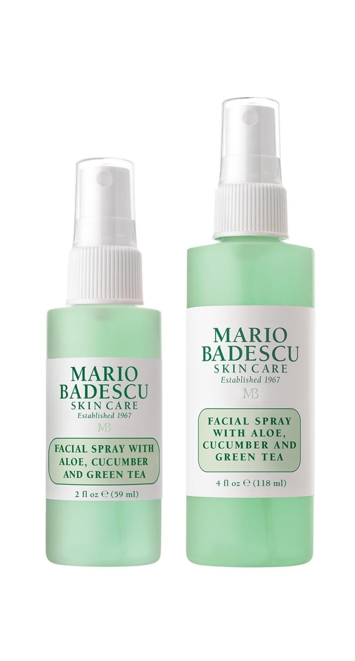 Facial Spray With Aloe Cucumber Green Tea Duo 2 Oz 4 Oz
