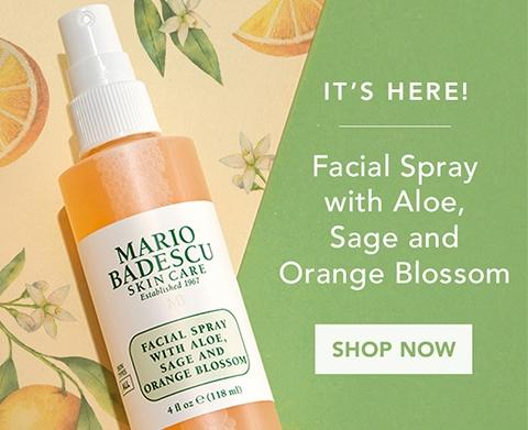 Shop Facial Spray with Aloe, Sage and Orange Blossom