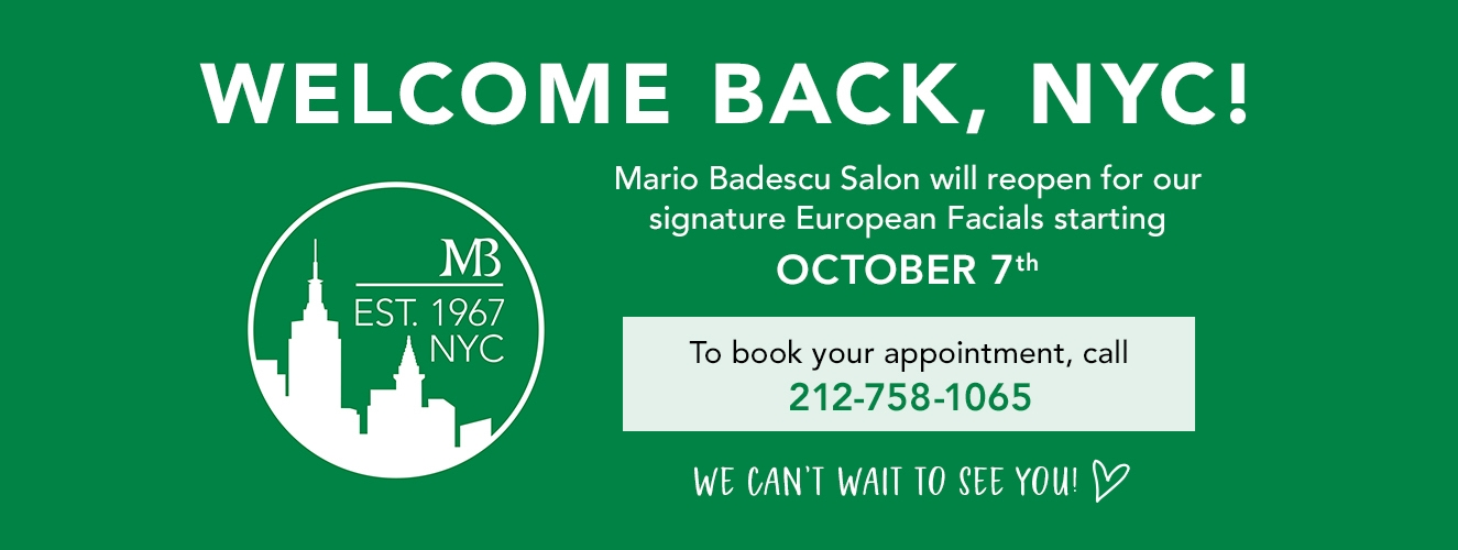 Salon is reopening October 7th