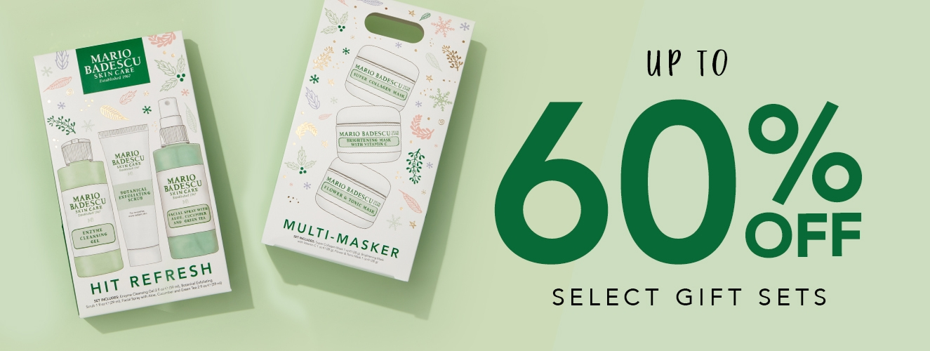 60% OFF SELECT GIFT SETS