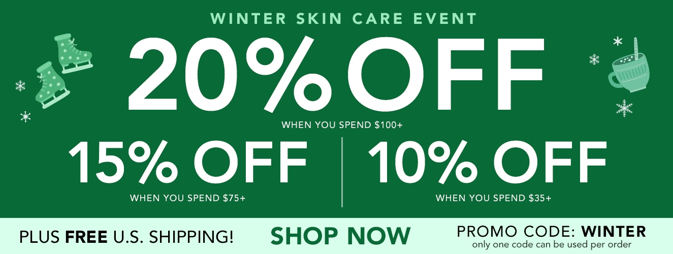 Save up to 20% and Free Shipping with code: WINTER