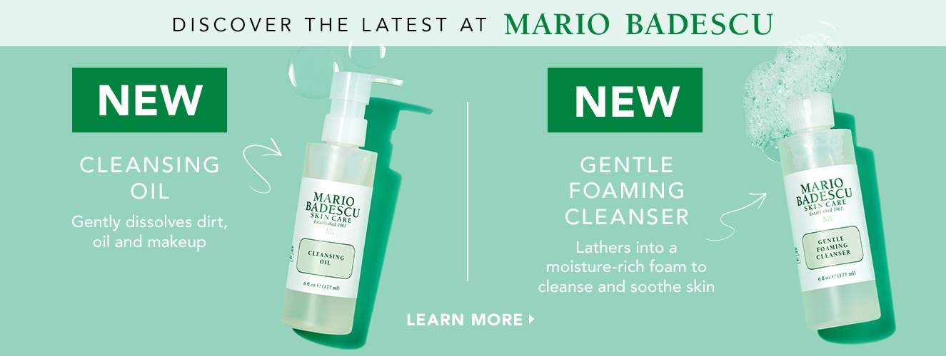 Cleansing Oil and Gentle Foaming Cleanser
