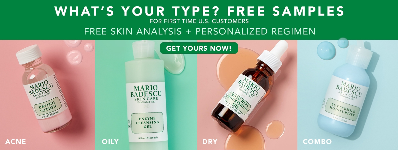Free Skin Analysis Samples for first time US Customers